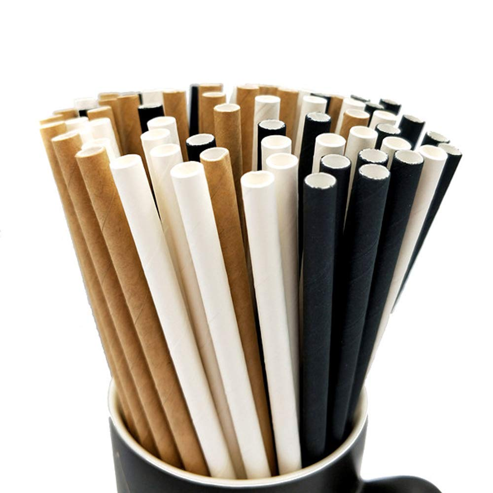 Environmental-friendly paper straws in manufacture