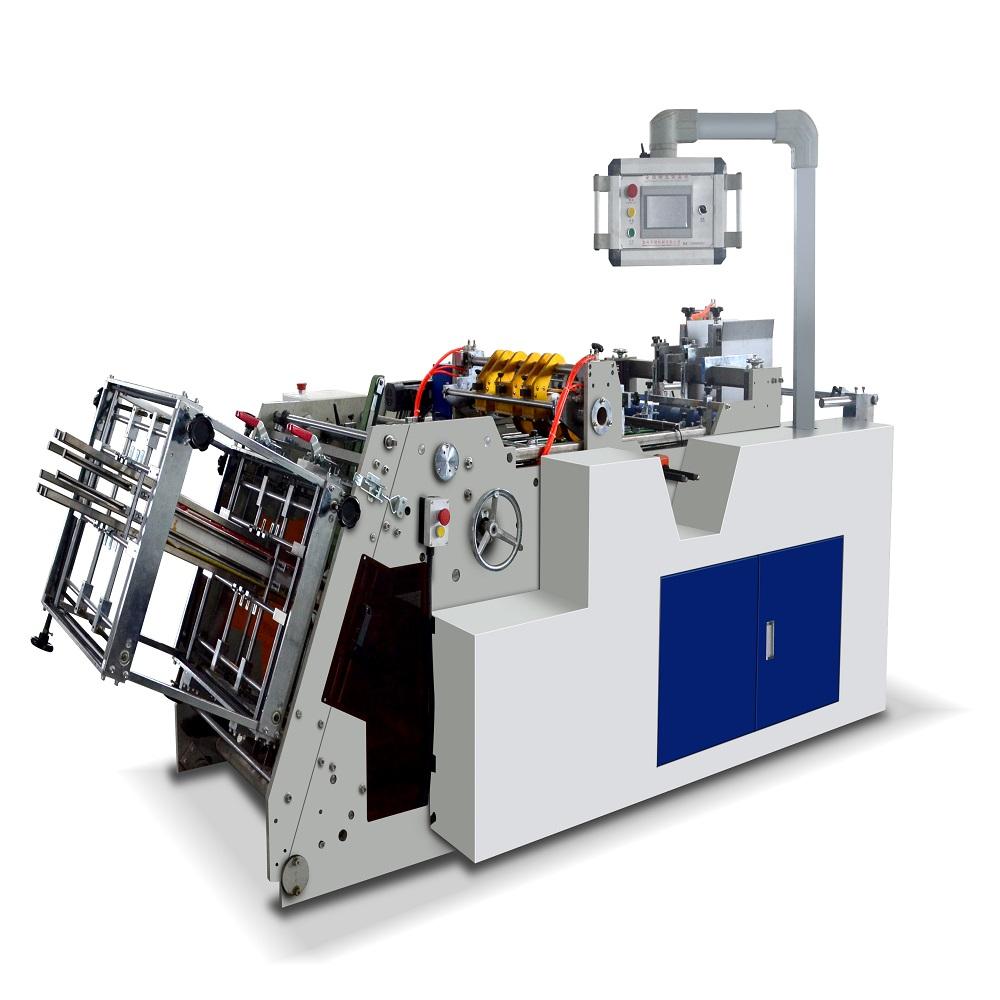Quality servo motor paper box making machine from China