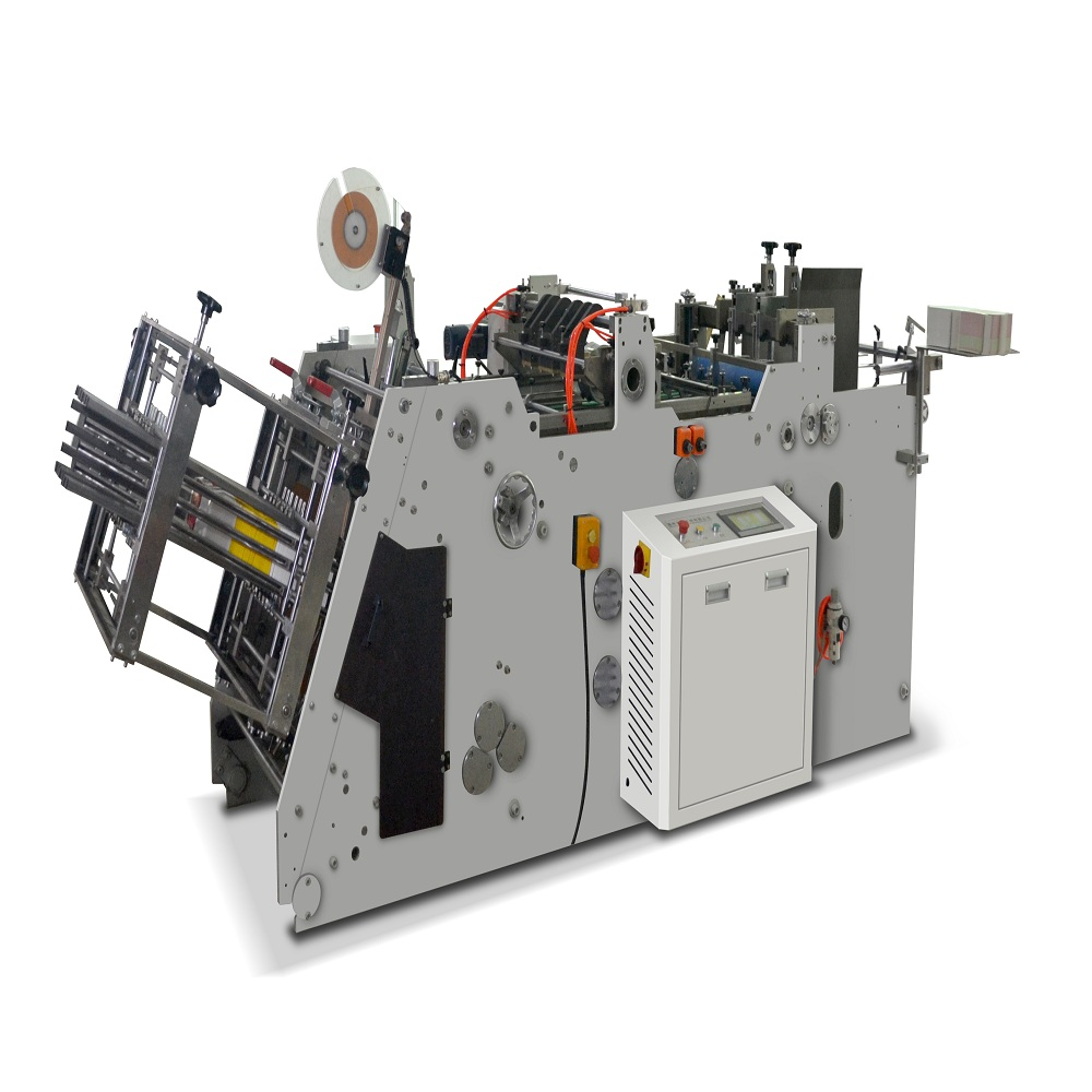 Power efficient paper lunch box forming machine