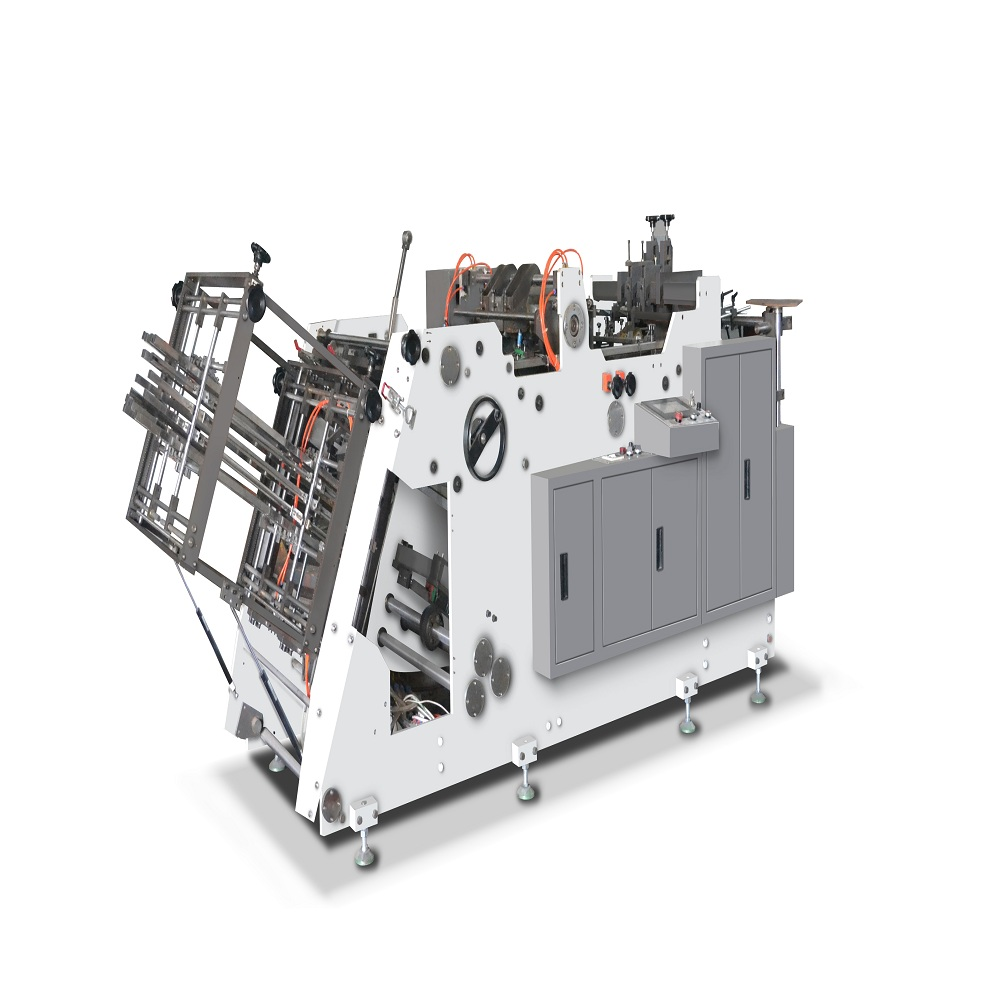 Cost efficient new type fried chicken box forming machine
