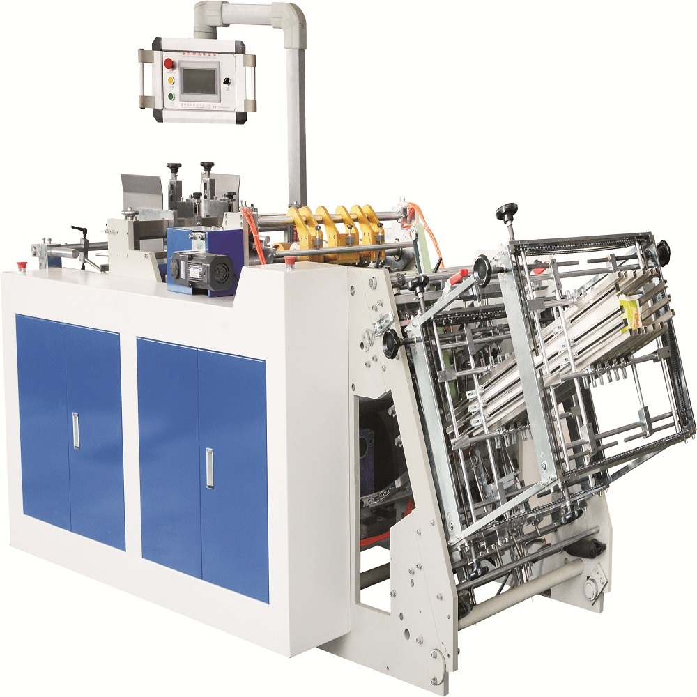 Power saving new type hamburger paper box forming machine